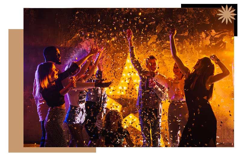 Actividade fiesta plantilla hotel