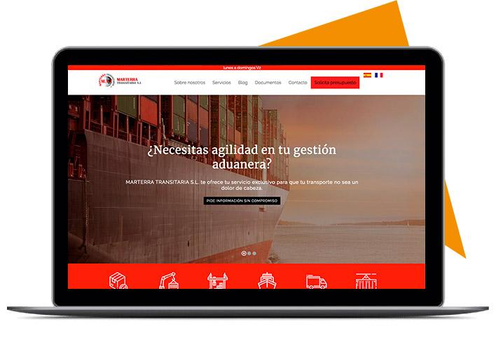 Diseño web realizada con niviweb editor html online