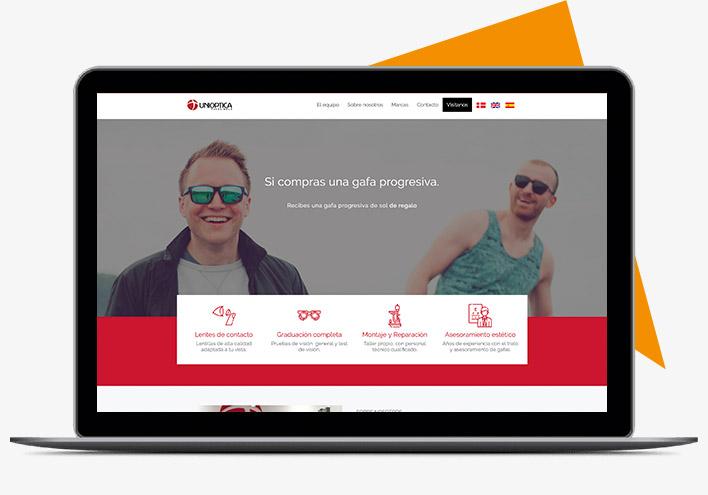 Diseño web personalizado constructor de páginas web con niviweb