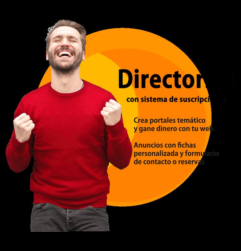 Crear una web de directorio con suscripciones - niviweb